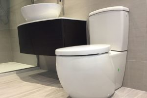 bathroom installation in halifax with toilet and basin